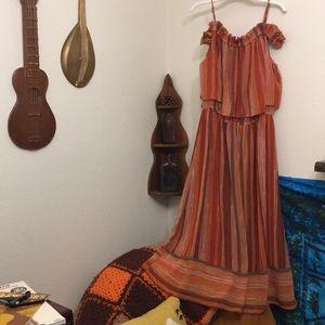 Mossimo Sz Medium Desert Sunset Dress